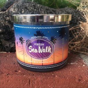 Fresh sea walk candle bath and body works